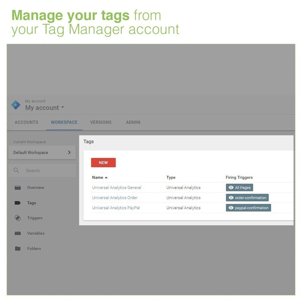 module - Analytics & Statistiche - Google Tag Manager Integration - GTM - 6