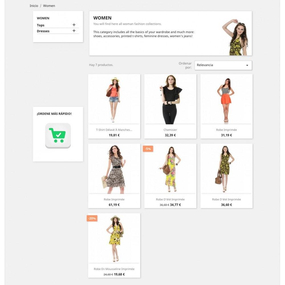 module - Proceso rápido de compra - Formulario de pedido - 7