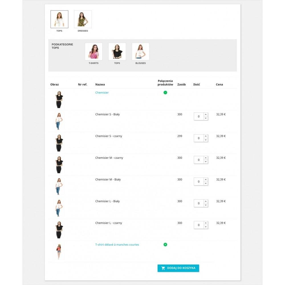 module - Szybki proces składania zamówienia - Formularz zamówienia - 4