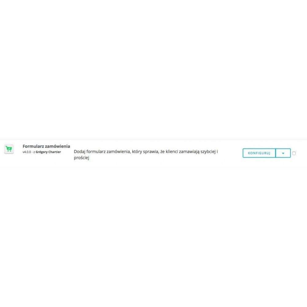 module - Szybki proces składania zamówienia - Formularz zamówienia - 8