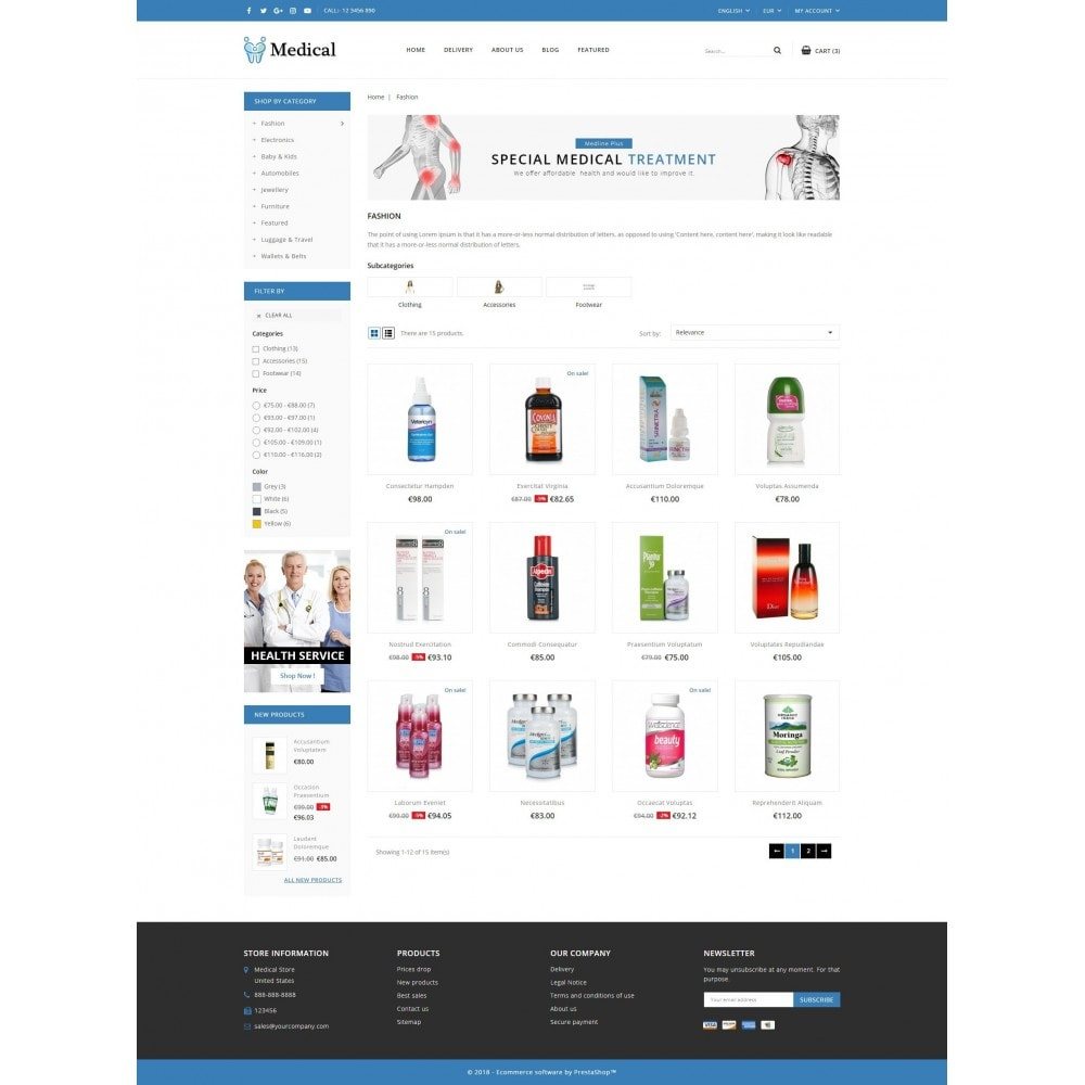 theme - Health & Beauty - Medical Store - 3