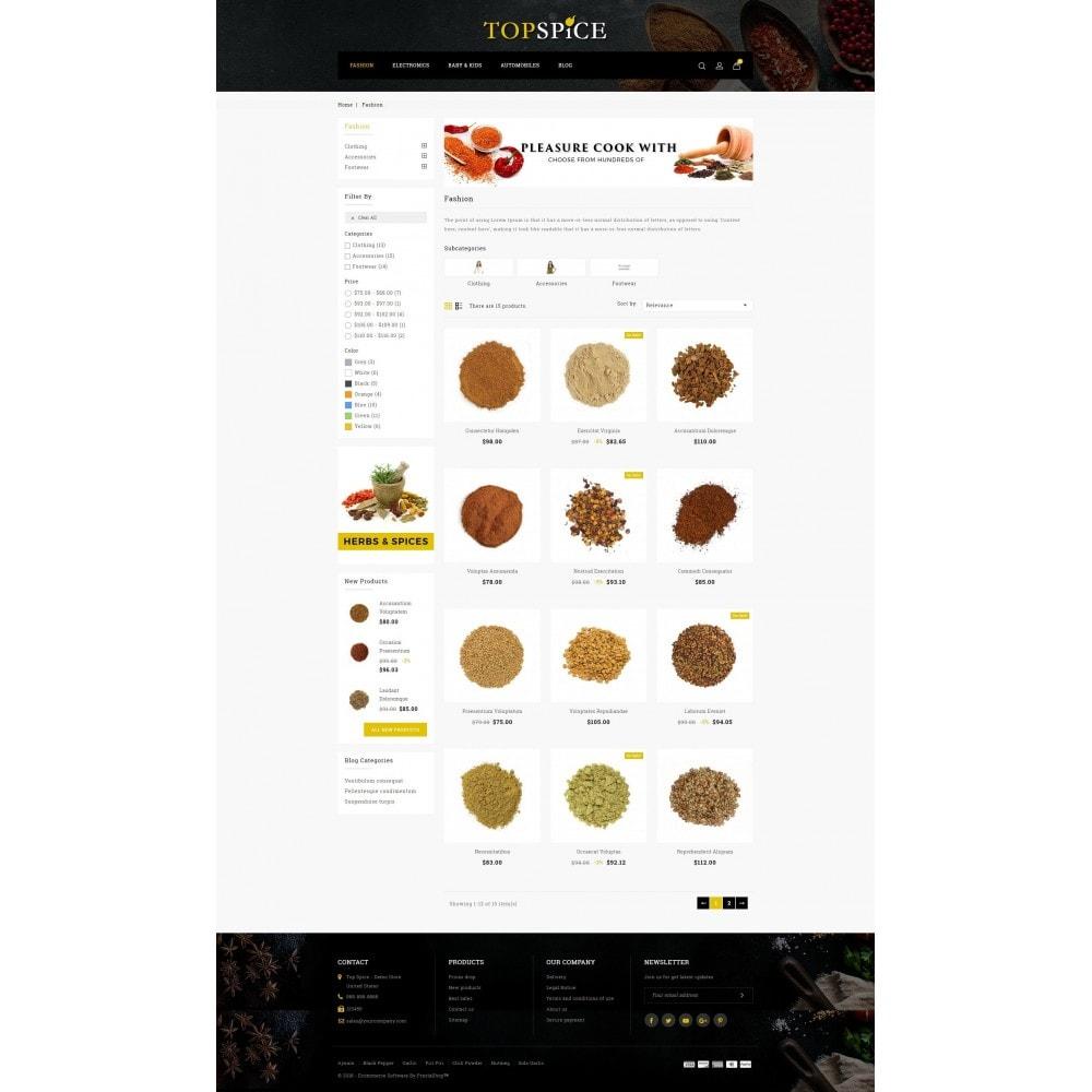 theme - Eten & Restaurant - Top Spice Store - 3