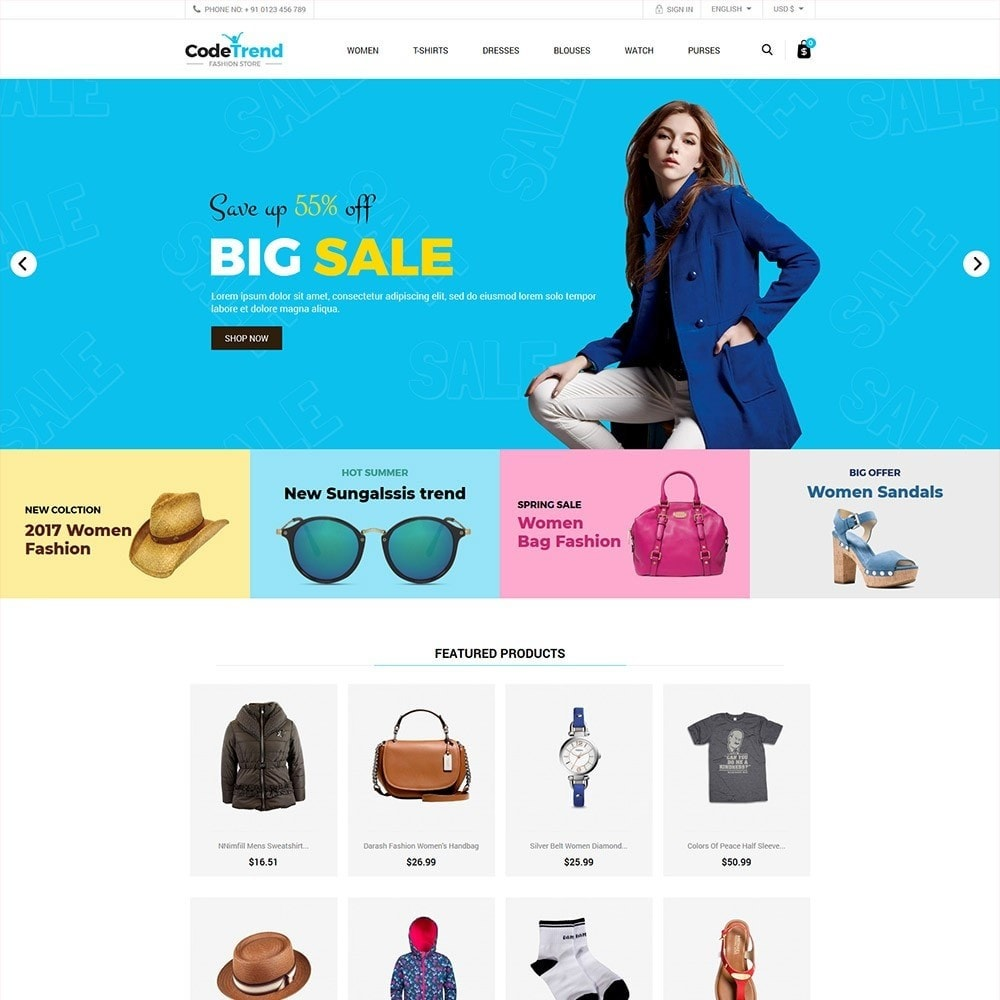 theme - Fashion & Shoes - Fashion Store - 2