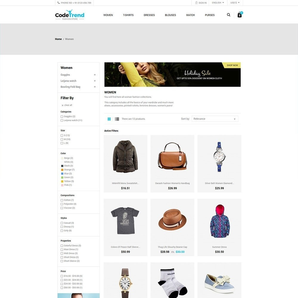 theme - Moda & Calzature - Fashion Store - 3