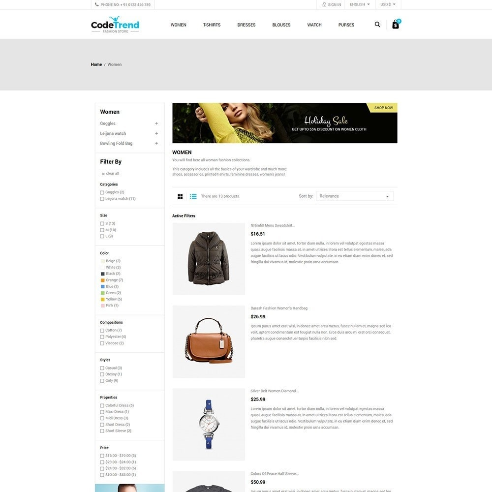 theme - Moda & Calzature - Fashion Store - 4