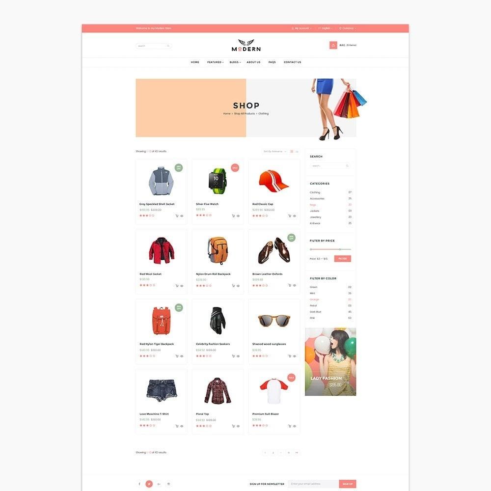 theme - Mode & Chaussures - Fashion Shoes, Bag, Shirt Store - 3