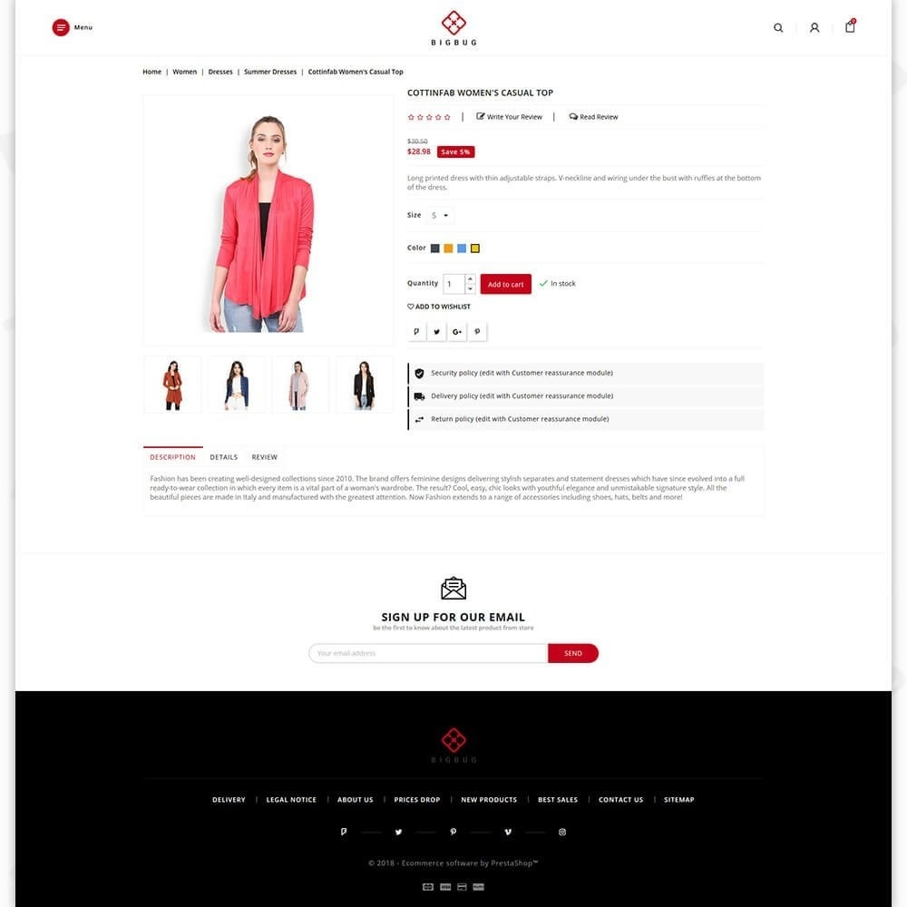 theme - Moda y Calzado - BIGBUG - The Fashion Store - 5