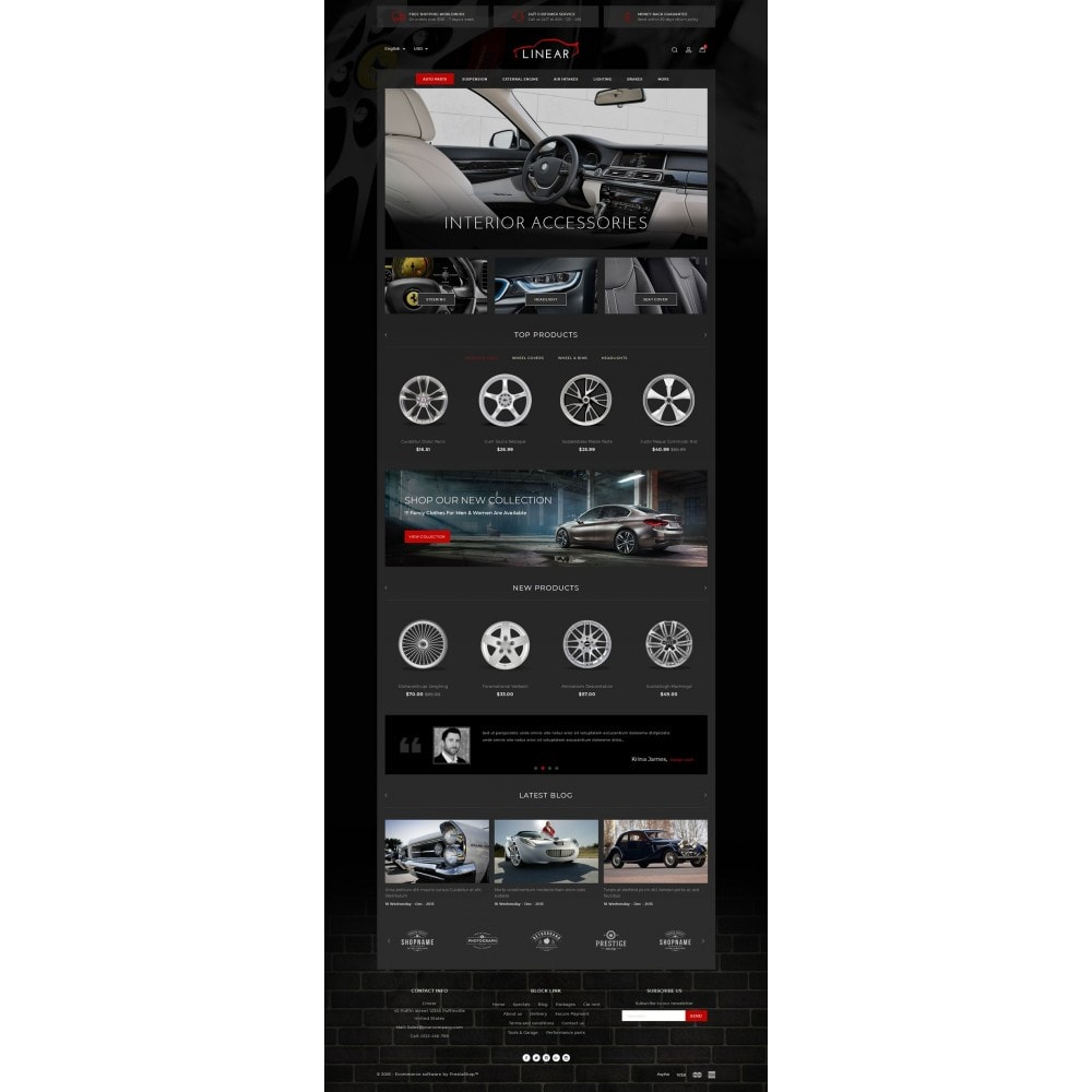 theme - Auto's & Motoren - Linear - Auto Spare Part - 2