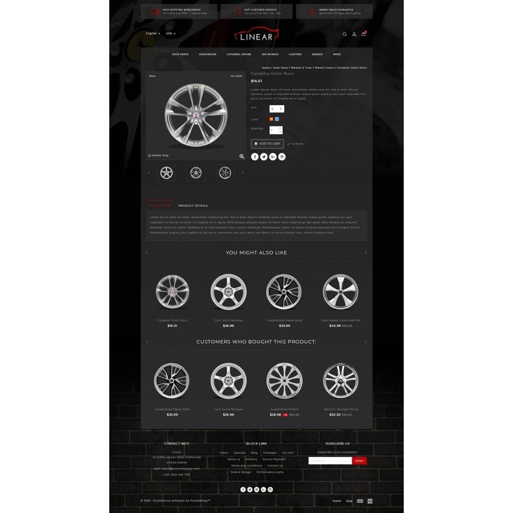 theme - Auto & Moto - Linear - Auto Spare Part - 4