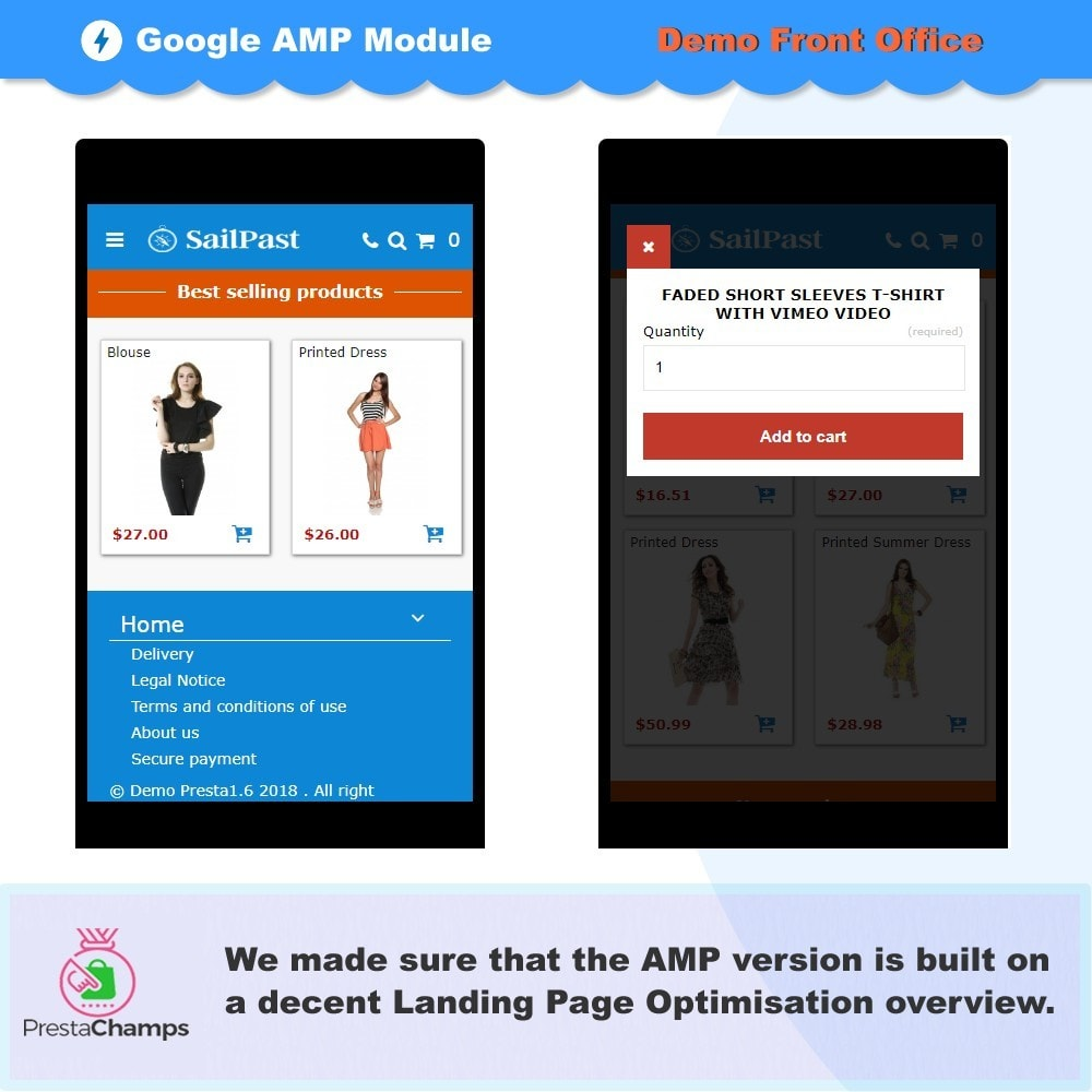 module - Website Performance - PROFESSIONAL AMP PAGES - ACCELERATED MOBILE PAGES - 6