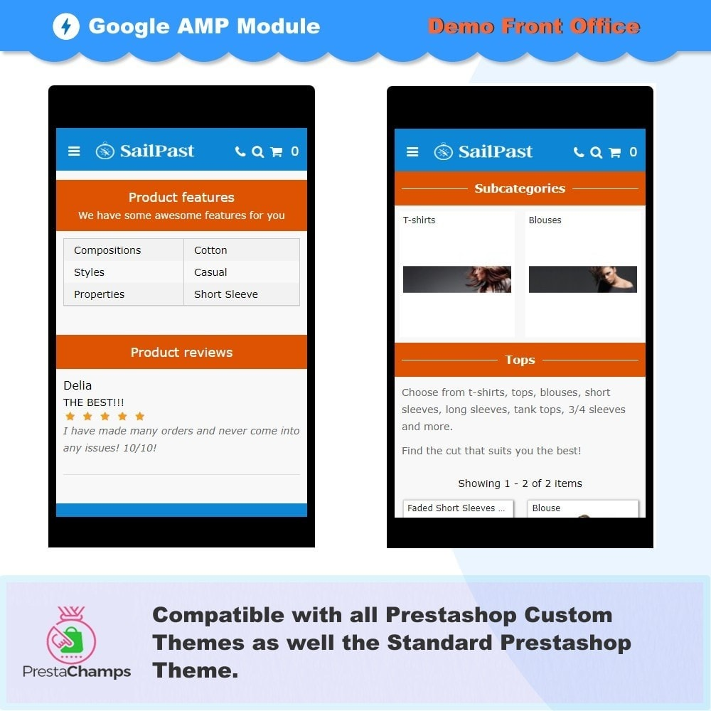 module - Website Performance - PROFESSIONAL AMP PAGES - ACCELERATED MOBILE PAGES - 8