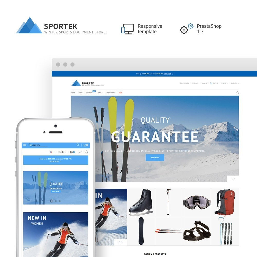 Sportek - Winter Sports Equipment Store