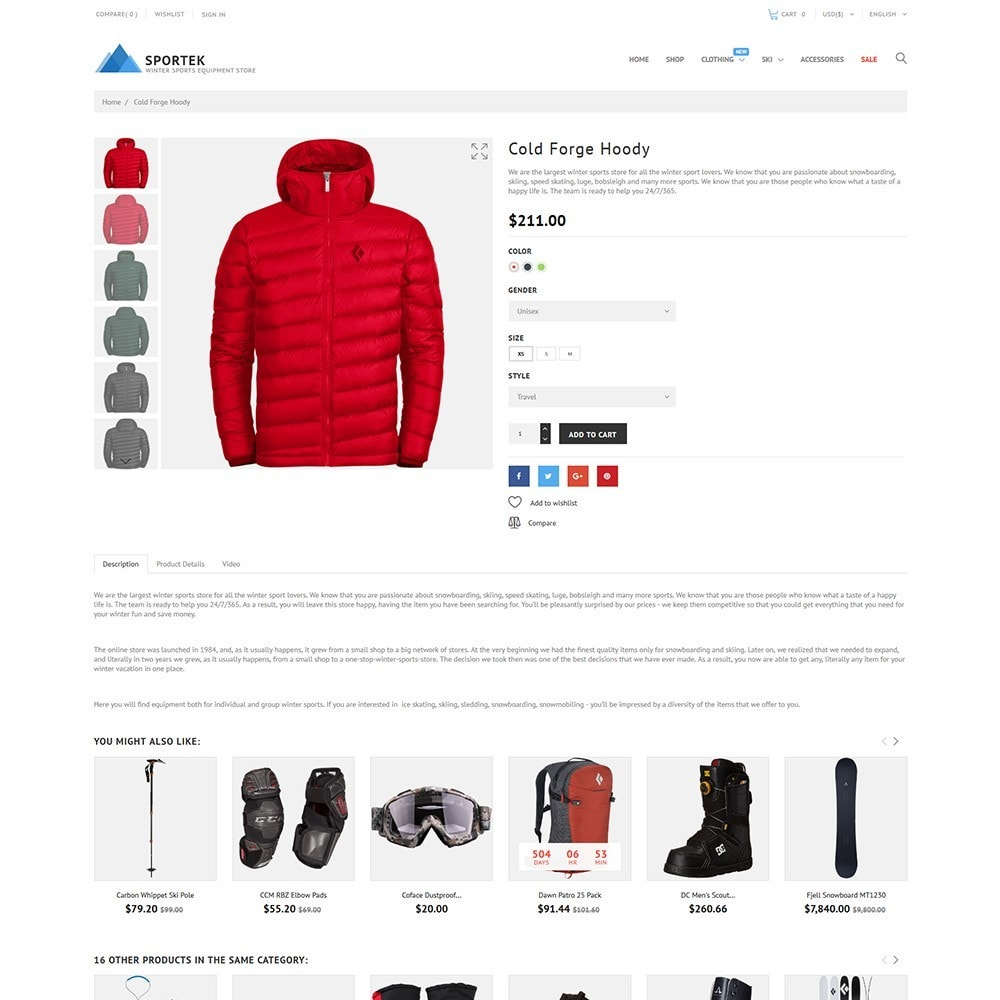 Sportek - Winter Sports Equipment Store