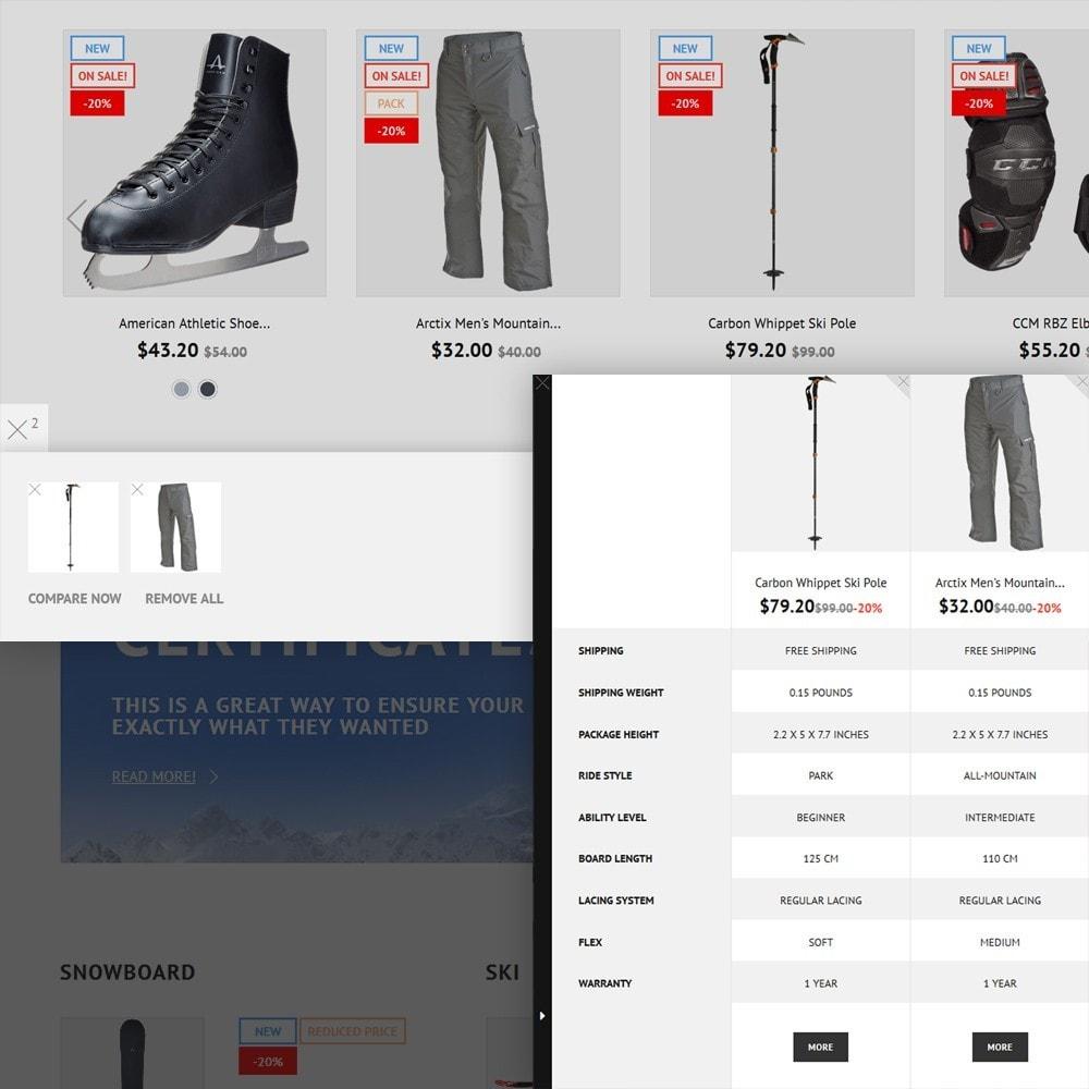 theme - Sports, Activities & Travel - Sportek - Winter Sports Equipment Store - 4
