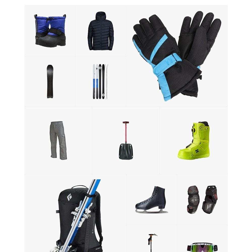 theme - Sports, Activities & Travel - Sportek - Winter Sports Equipment Store - 5