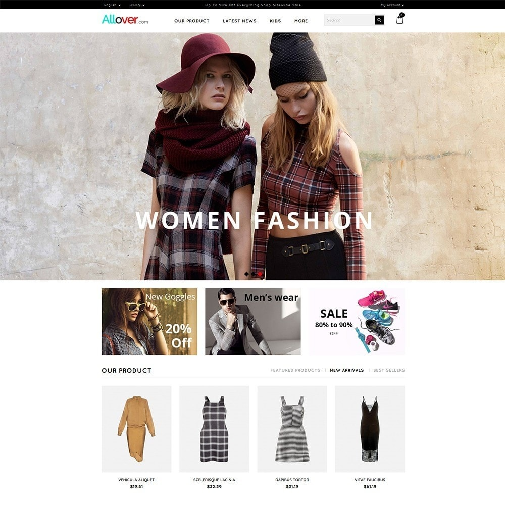 theme - Moda y Calzado - Allover Fashion Store - 2