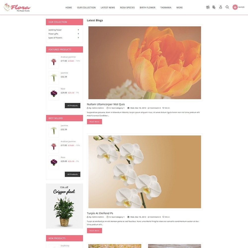 theme - Regali, Fiori & Feste - Flora Flower Shop - 7