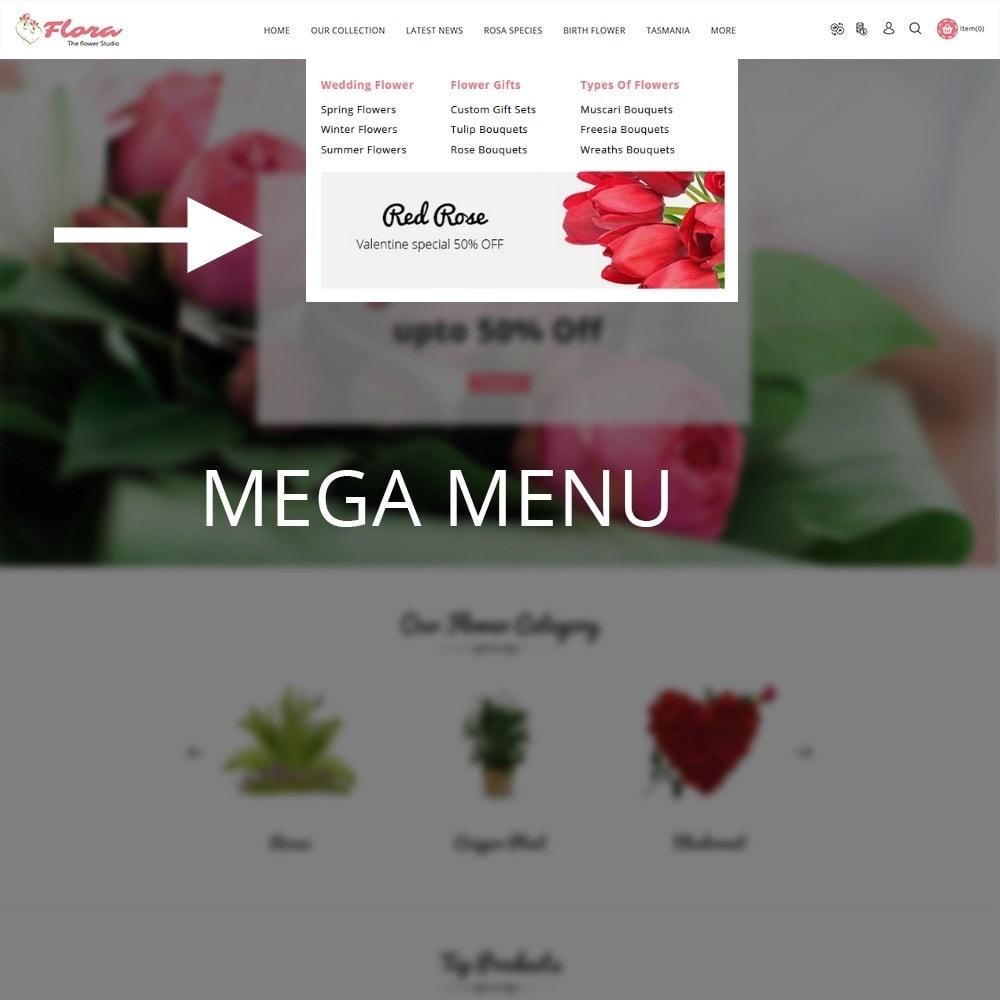 theme - Presentes, Flores & Comemorações - Flora Flower Shop - 9