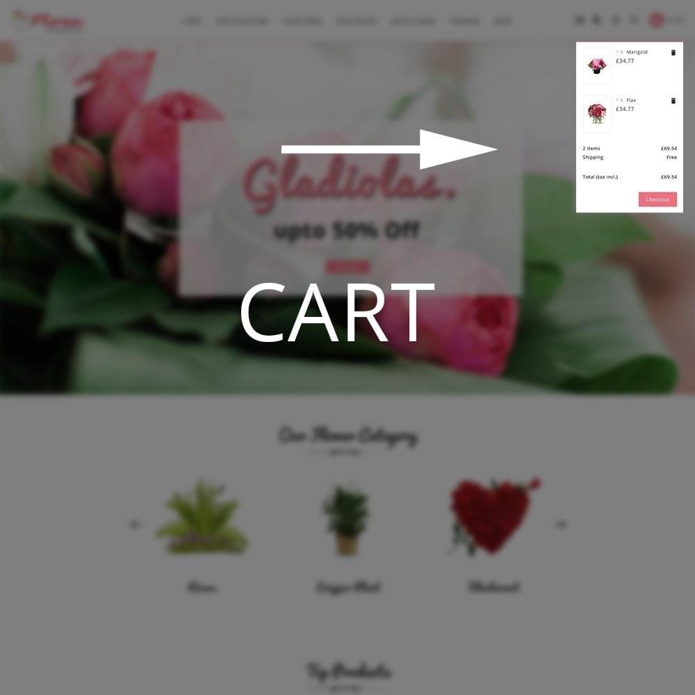 theme - Presentes, Flores & Comemorações - Flora Flower Shop - 10