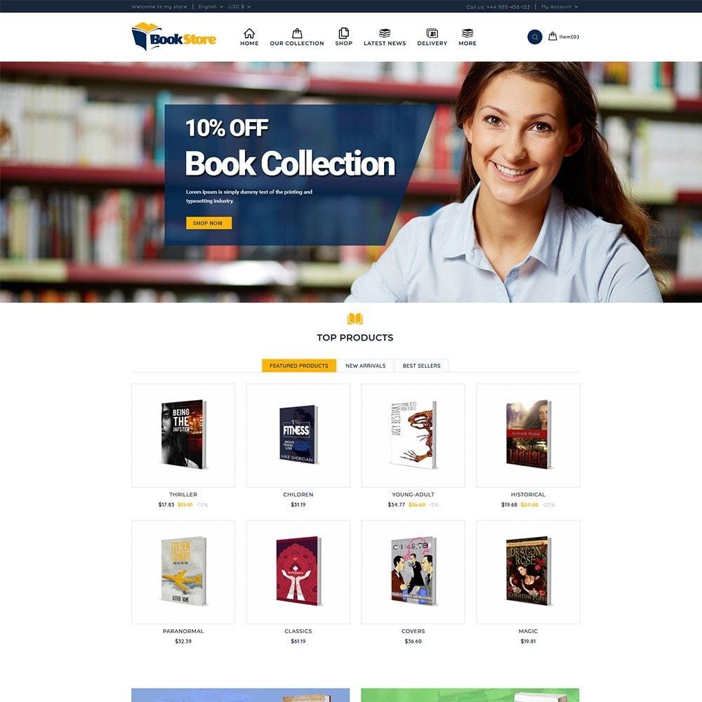 theme - Home & Garden - Book Store - 2