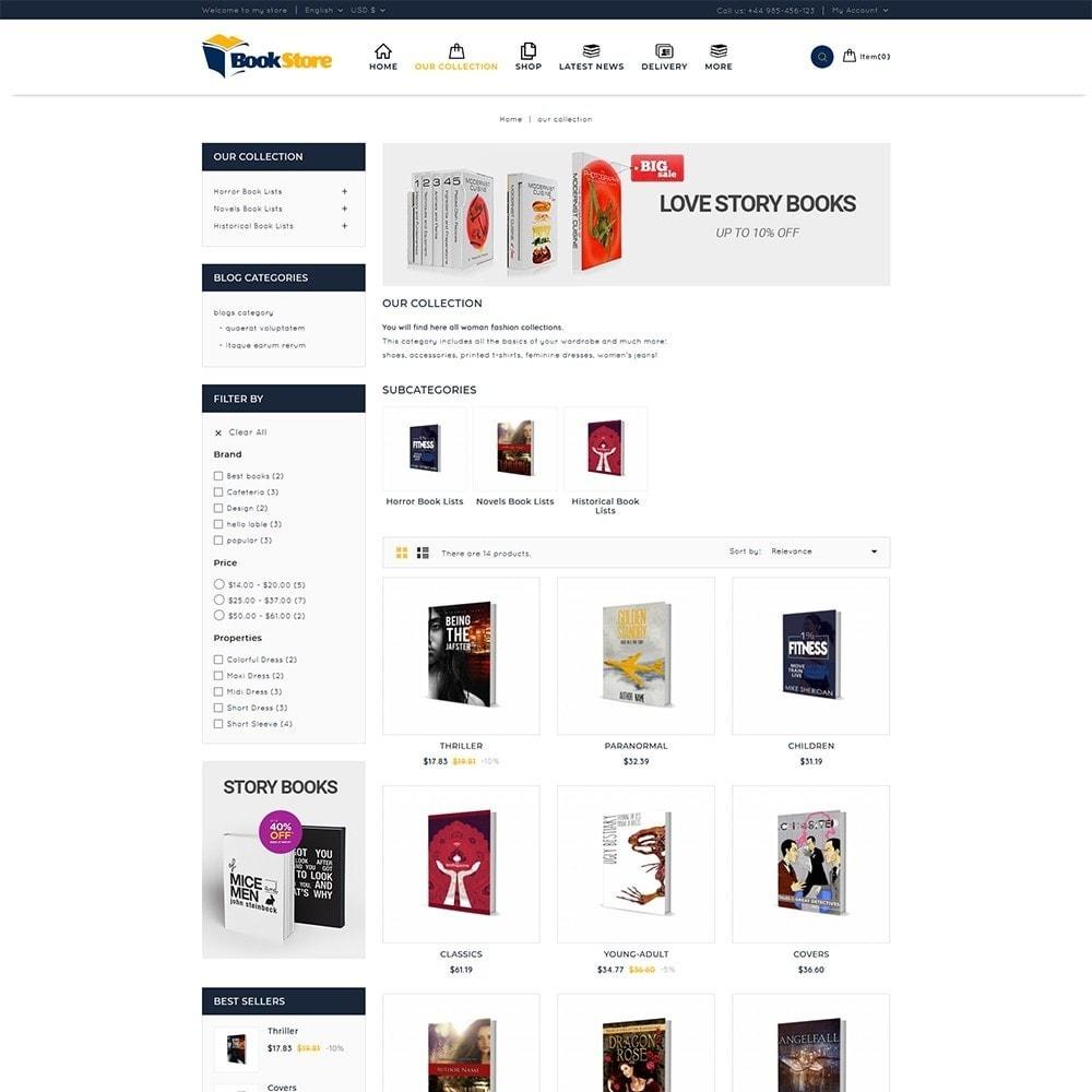 theme - Maison & Jardin - Book Store - 4