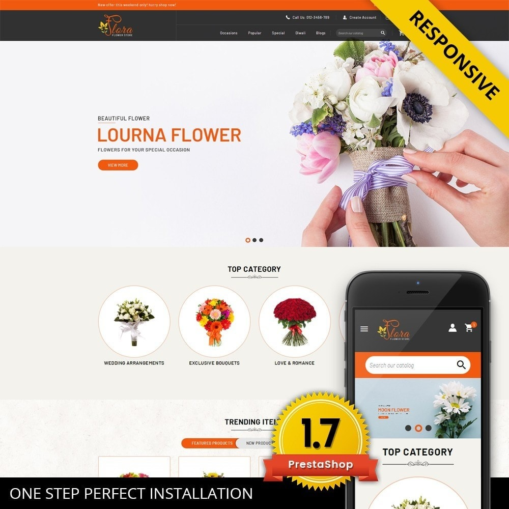 Flora - Flower Store