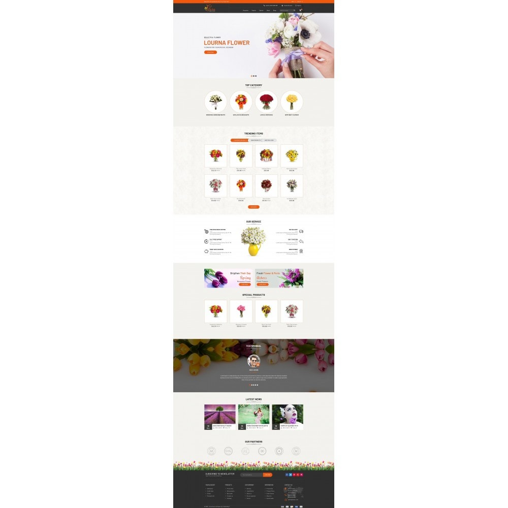 theme - Regalos, Flores y Celebraciones - Flora - Flower Store - 2