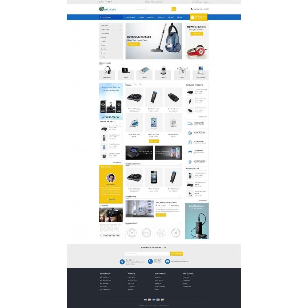 Electrotek - Electronics Store