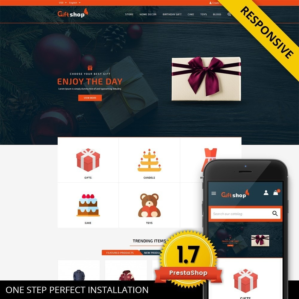 GiftShop - Mega store
