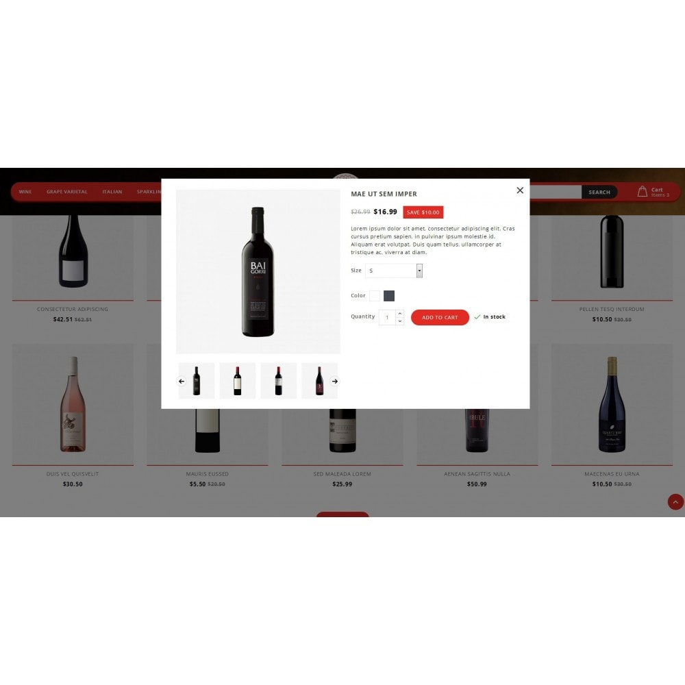 theme - Drink & Tobacco - Luxwine - Wine Store - 6