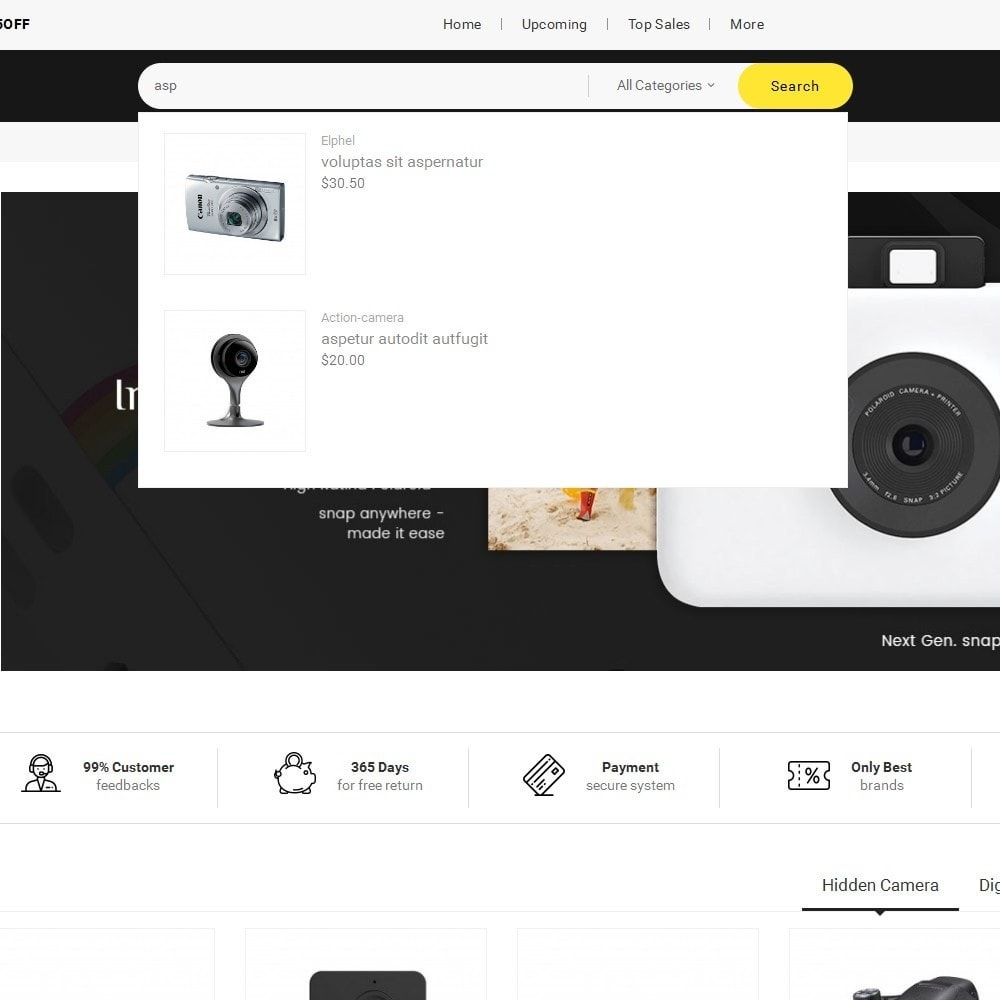 theme - Electronics & Computers - Mega Shoppe Camera - 10