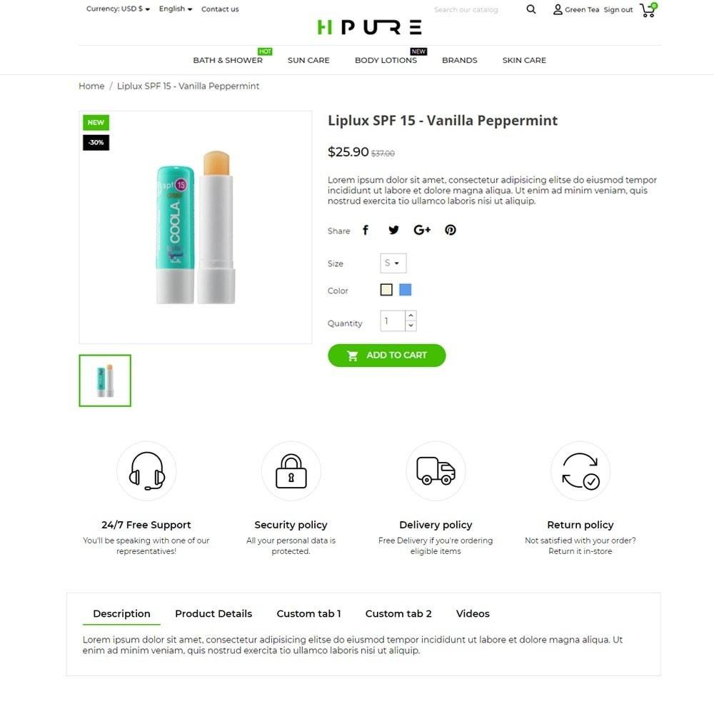 theme - Gesundheit & Schönheit - HPURE Cosmetics - 5