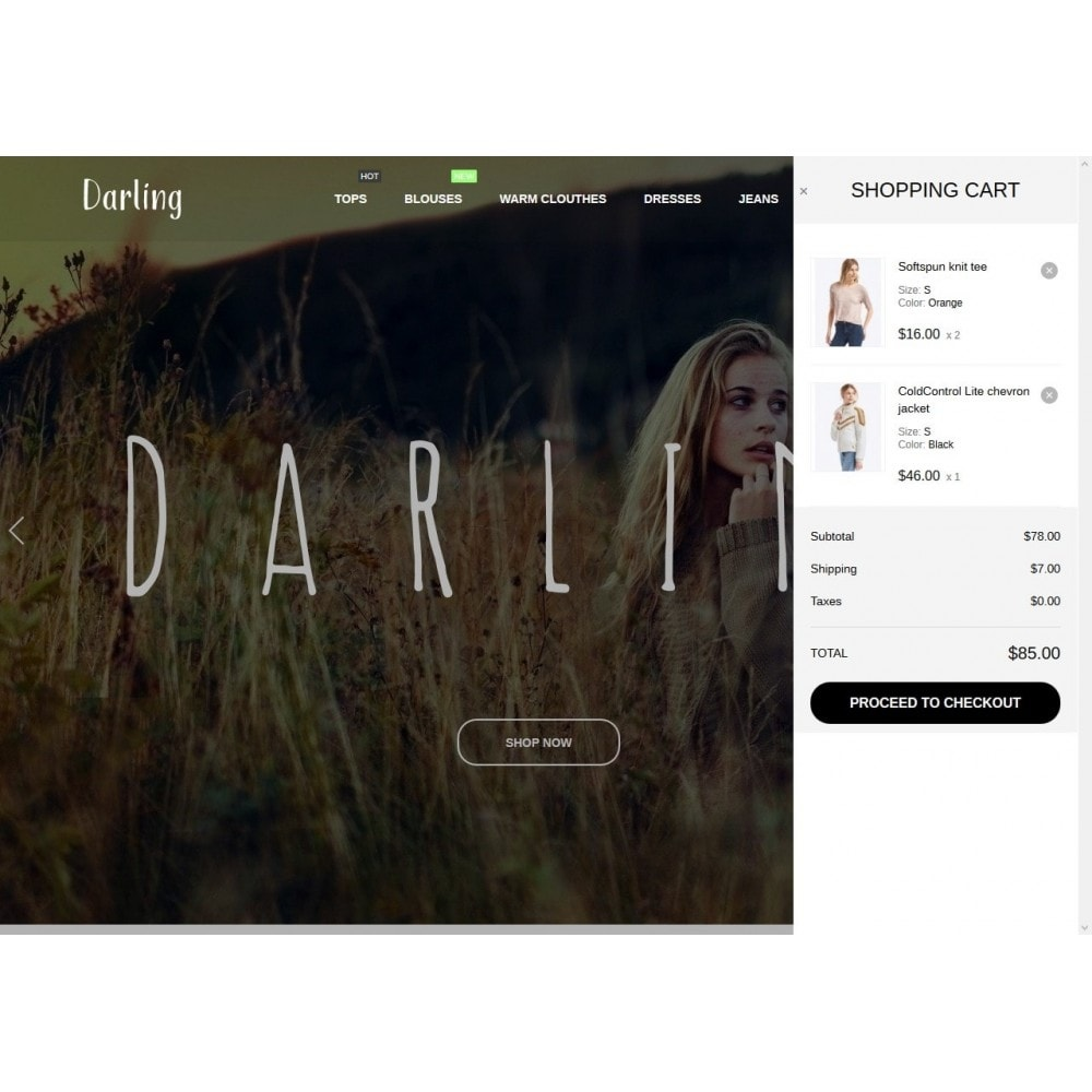 theme - Fashion & Shoes - Darling Fashion Store - 7