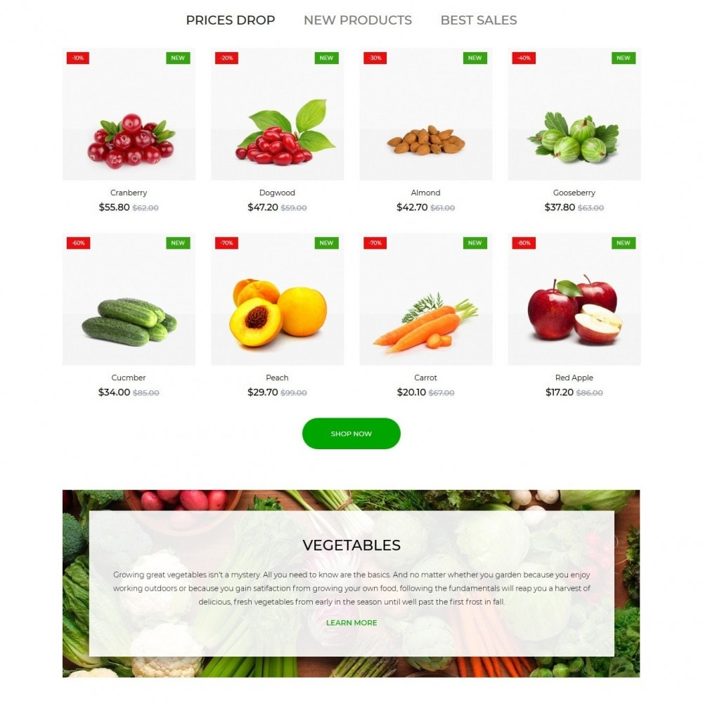 theme - Alimentation & Restauration - Living colours - 3