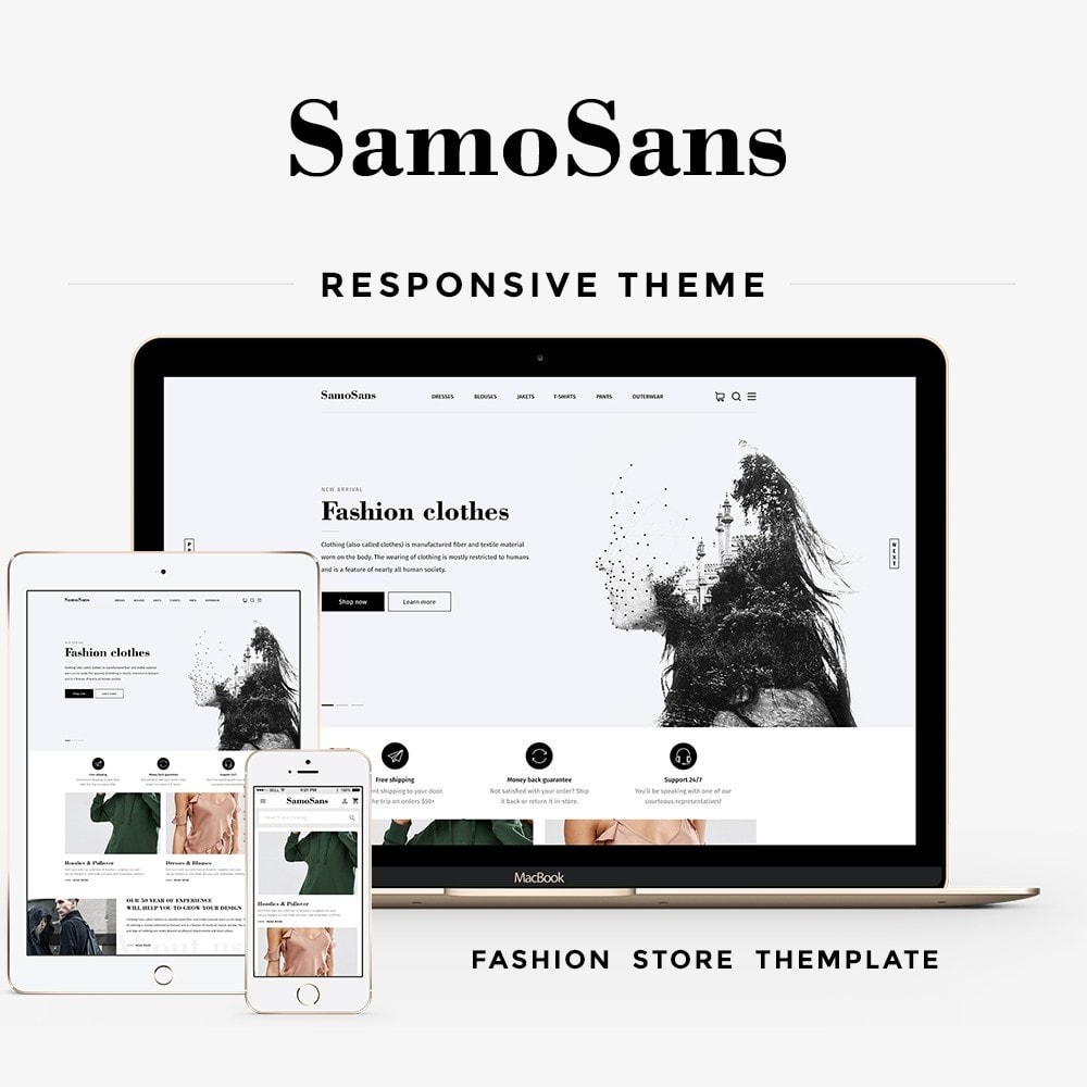 theme - Mode & Schuhe - Samo Sans Fashion Store - 1