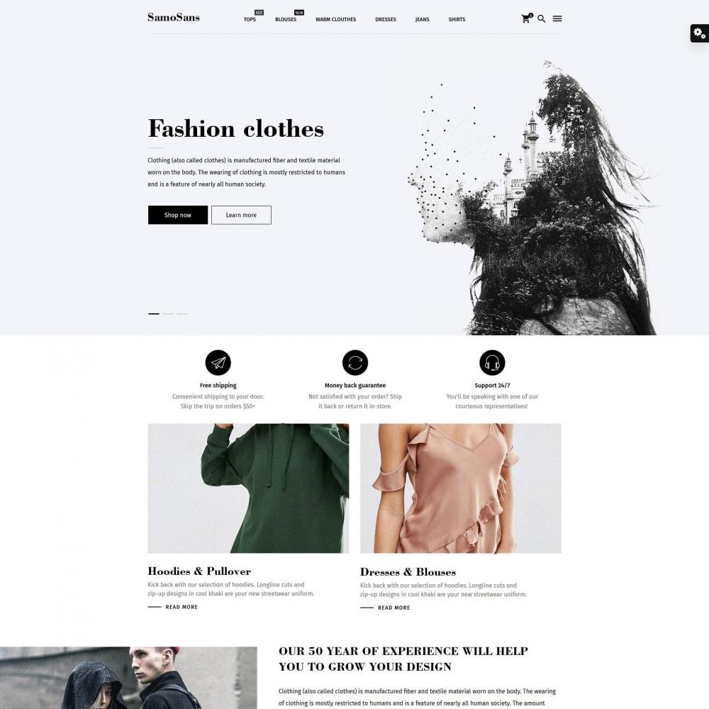 theme - Moda & Calçados - Samo Sans Fashion Store - 2