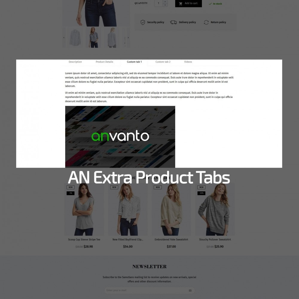 theme - Мода и обувь - Samo Sans Fashion Store - 7