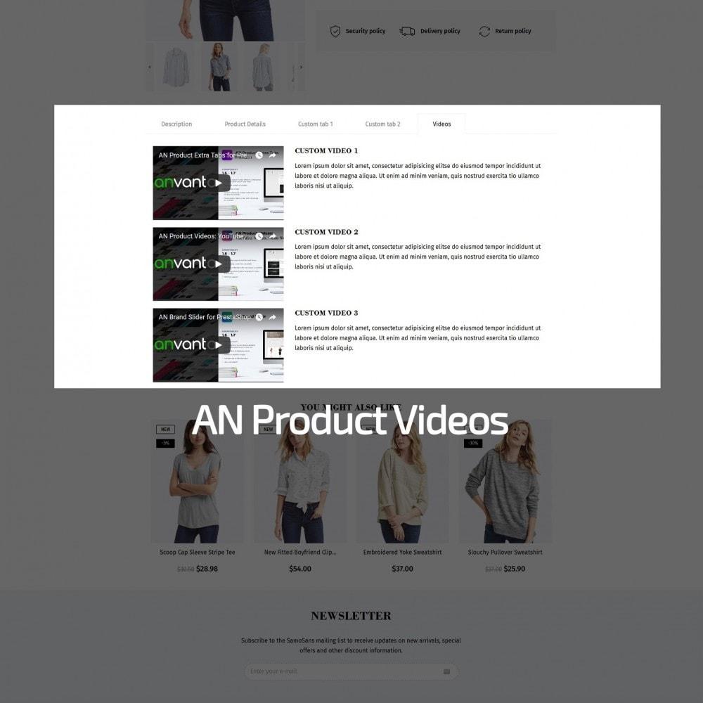 theme - Мода и обувь - Samo Sans Fashion Store - 8