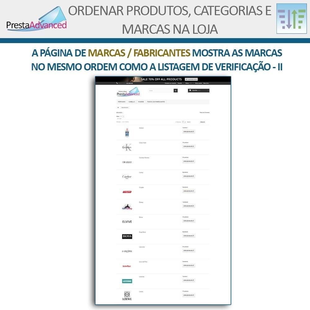 module - Personalização de página - Ordenar produtos, categorias e marcas na loja - 18