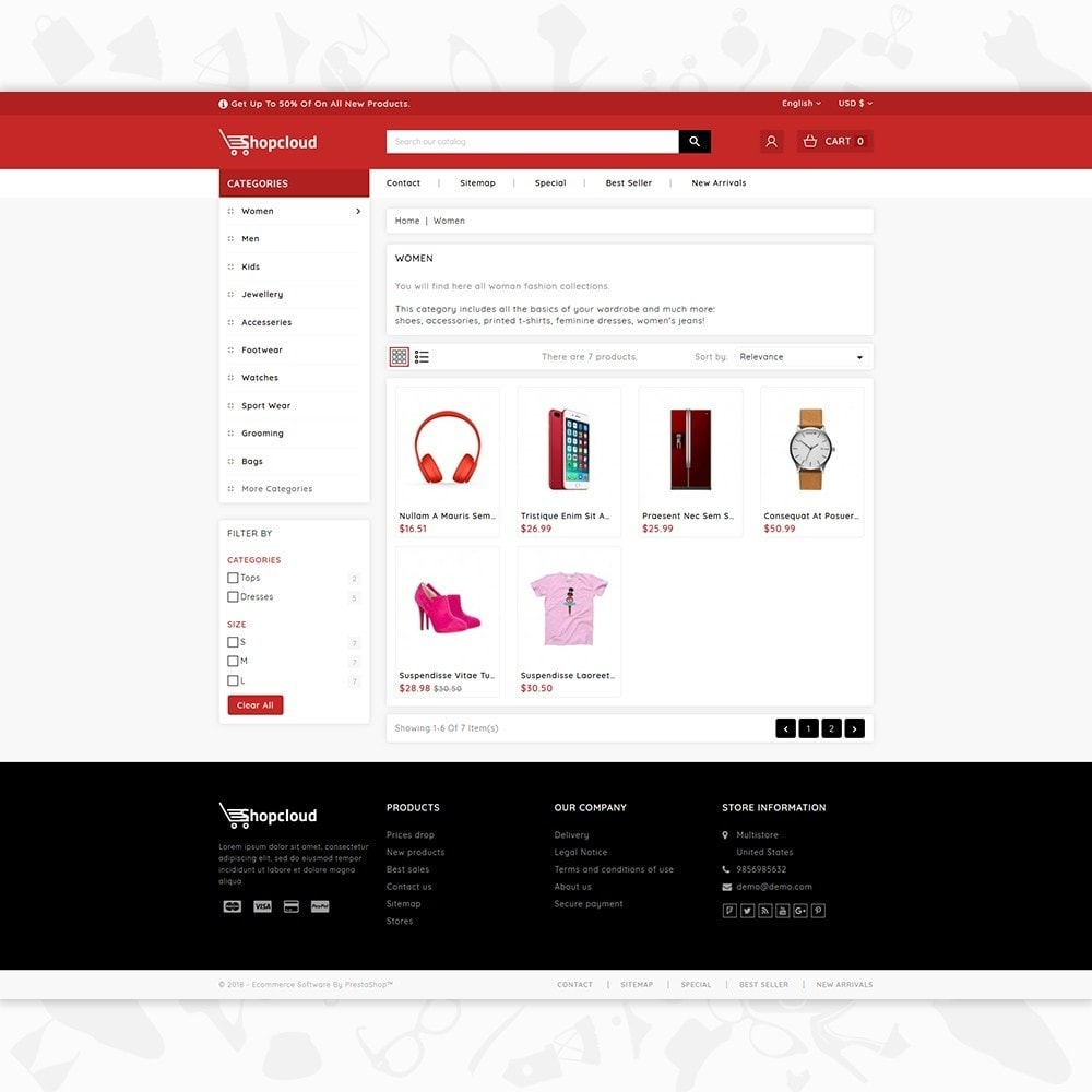 theme - Eletrônicos & High Tech - ShopCloud - The Electronics Store - 3