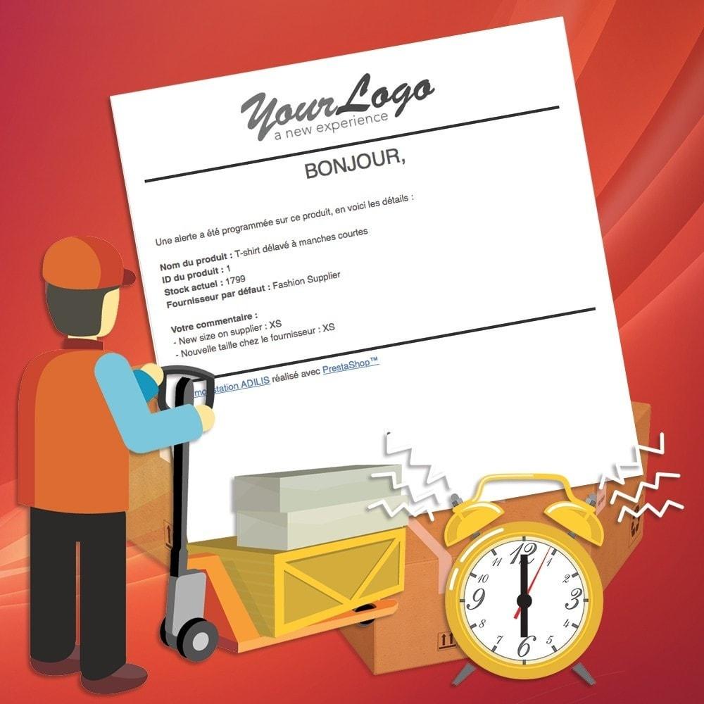 module - E-mails & Notifications - Alertes marchand sur les produits - 3