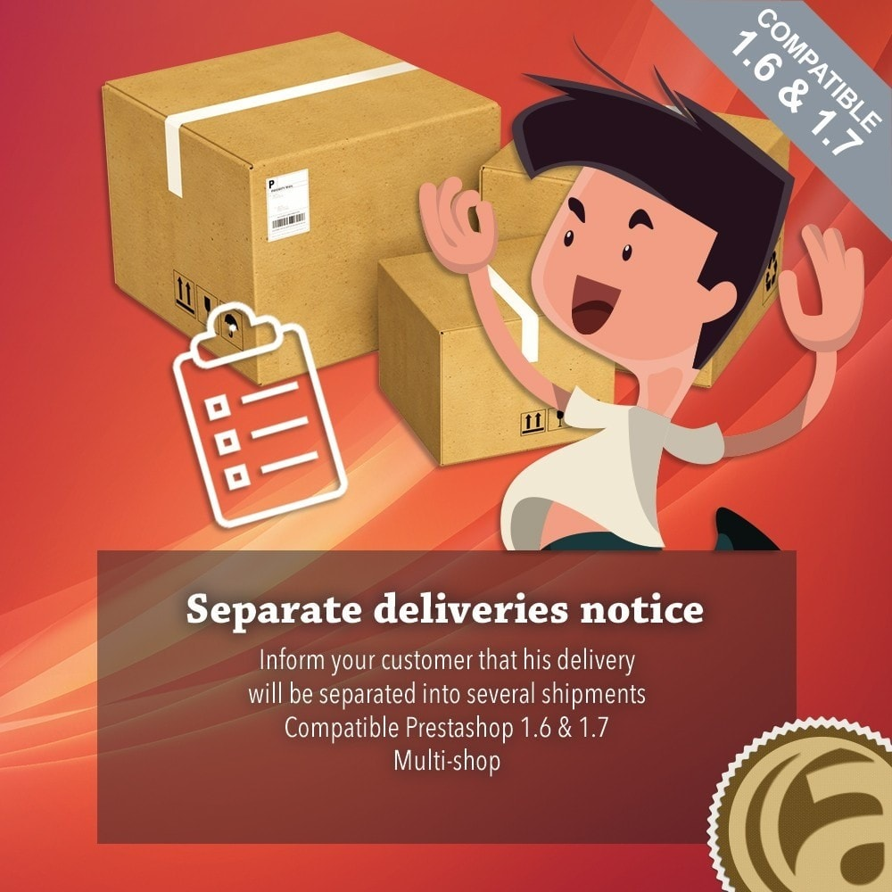 module - Stock & Supplier Management - Separate deliveries notice - 1