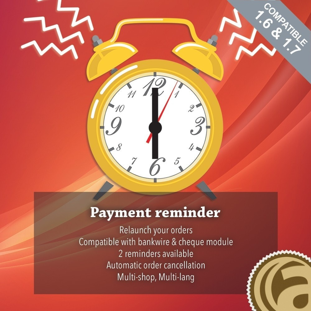 module - Andere betaalmethodes - Payments reminder - 1