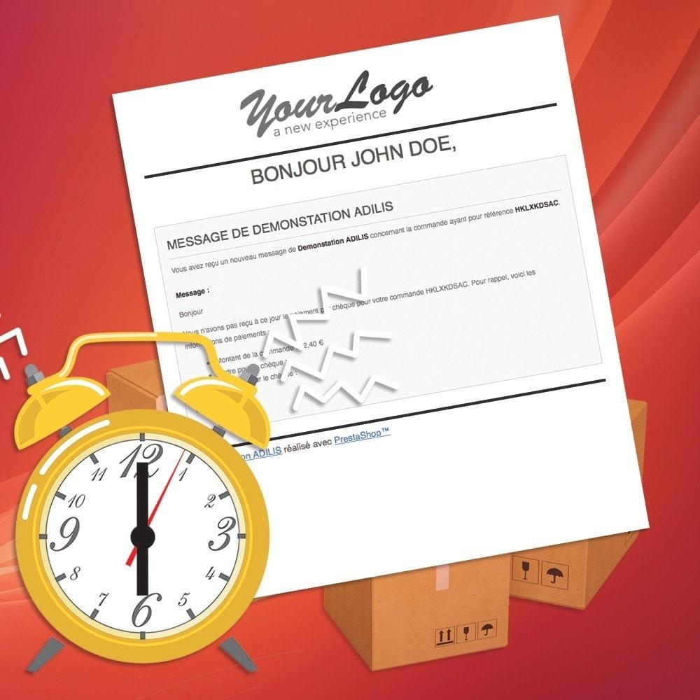 module - Autres moyens de paiement - Relances de paiements - 4