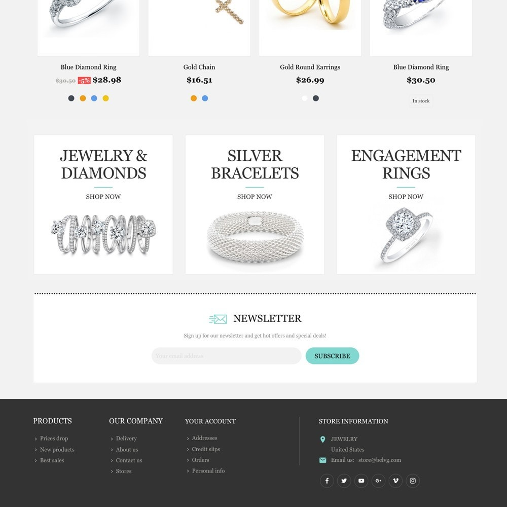 theme - Jewelry & Accessories - Jewelry Shop - 2