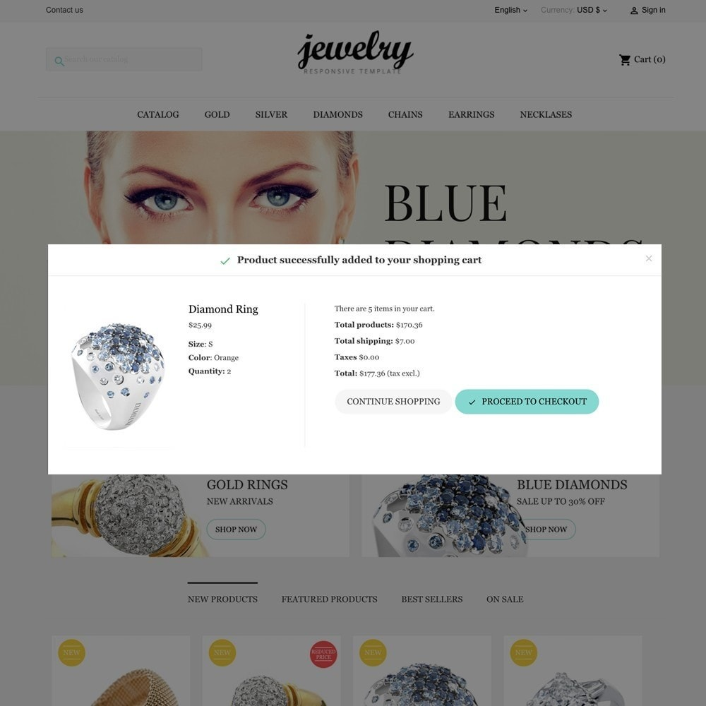 theme - Jewelry & Accessories - Jewelry Shop - 8