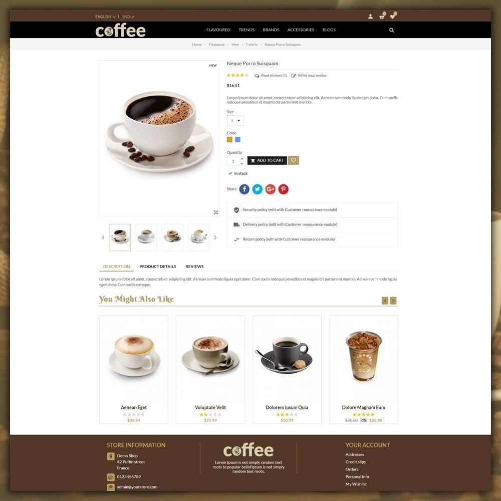 theme - Bebidas y Tabaco - Coffee Shop - 6