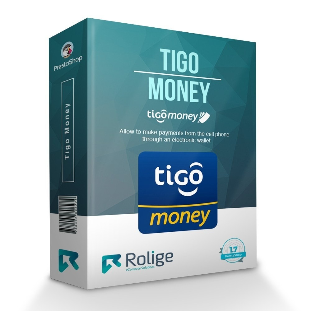 module - Creditcardbetaling of Walletbetaling - Tigo Money Paraguay - 1