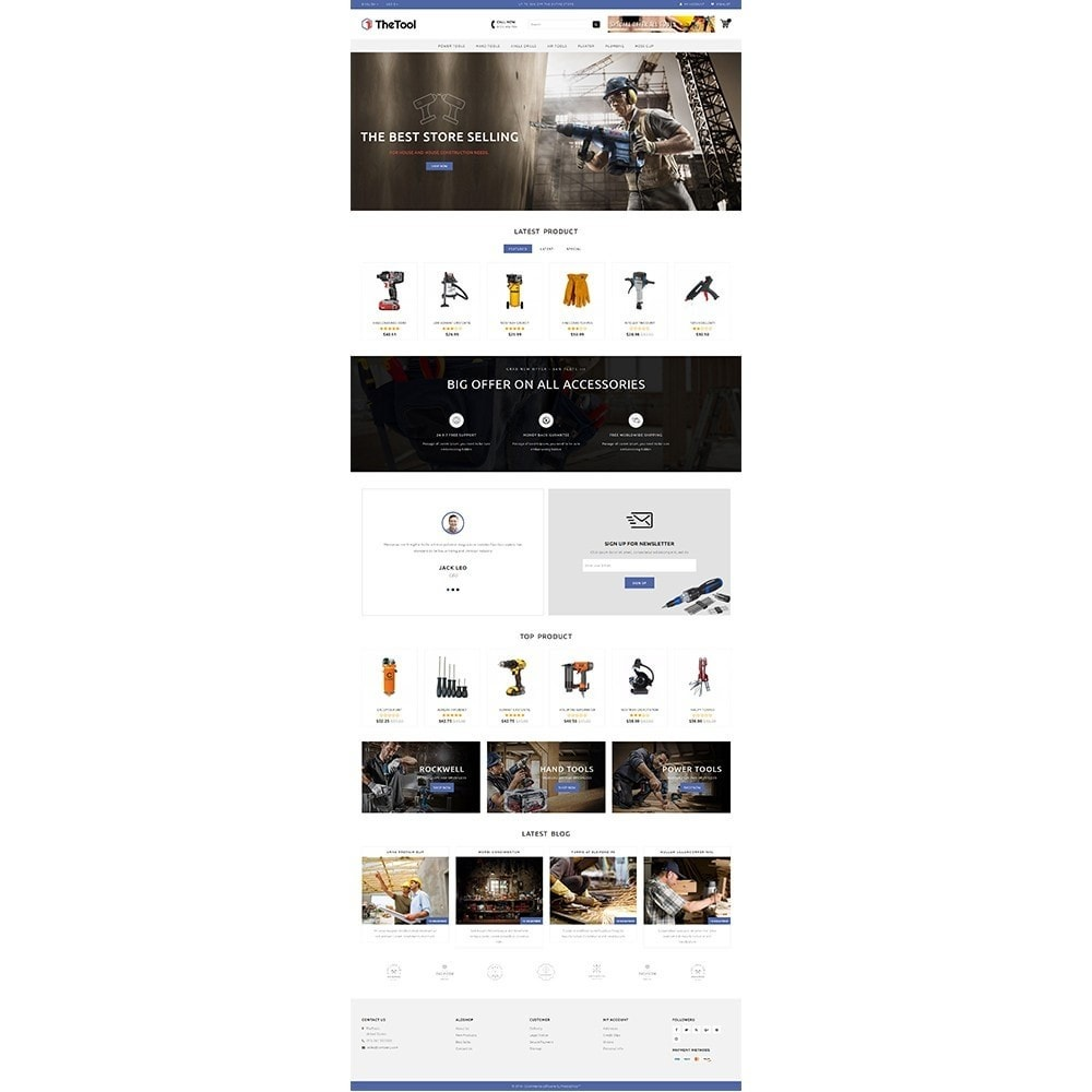 theme - Coches y Motos - TheTools Store - 2