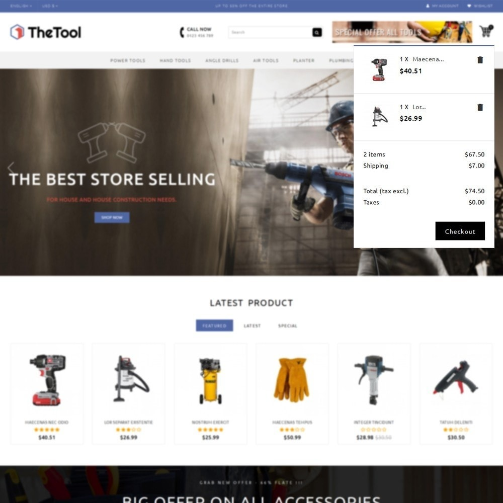 theme - Coches y Motos - TheTools Store - 8